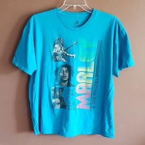 Bob Marley & The Wallers Tshirt Zion XXL